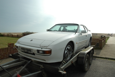 Classic Porsche 944 restoration project Ferdinand 3