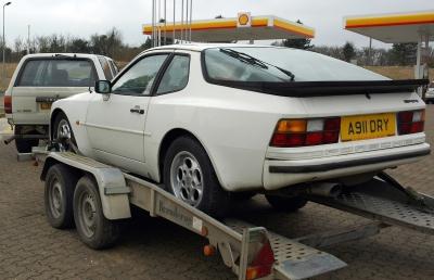 Classic Porsche 944 restoration project Ferdinand 5