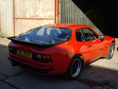 Porsche 944 Turbo restoration project Ferdinand 6