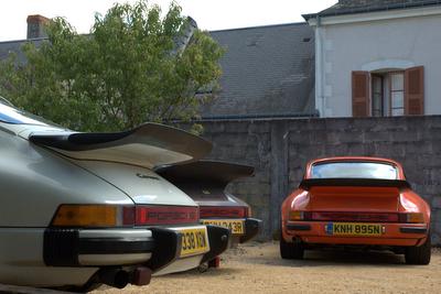 Classic Le Mans Porsche Road Trip