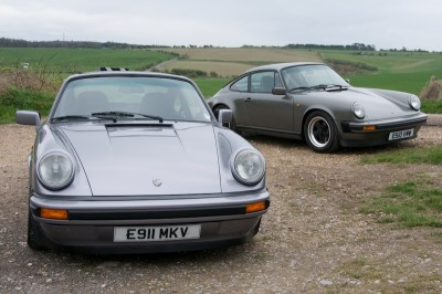 Porsche 911 3.2 Carrera versus 3.4 engine Conversion