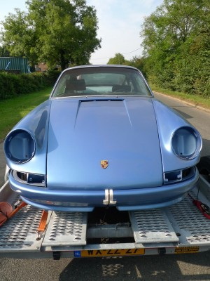 John Glynn Porsche 911T hot rod build