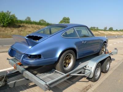 Porsche 911 R Gruppe T project