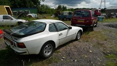 Porsche 944 barn find