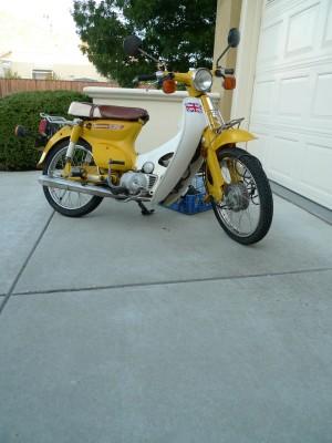 Jamie's Honda Cub