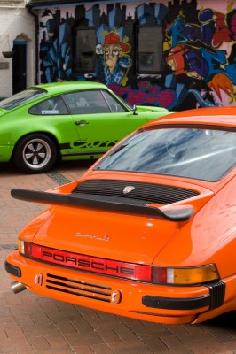 Orange Porsche 911 World feature 1