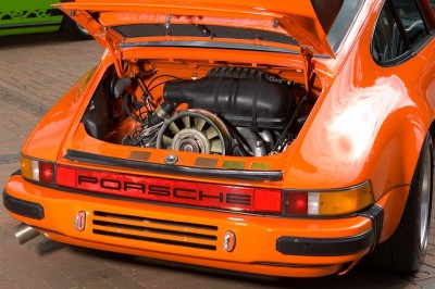 Orange Porsche 911 World feature 2
