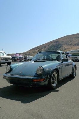 Porsche 911 SC in California