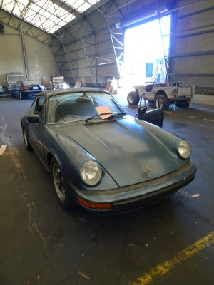 Importing Porsche 911 US to UK