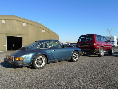Towing Imported Porsche 911 SC
