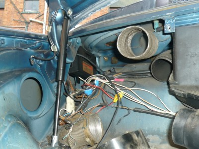 Porsche 911 SC Project Car Wiring Repairs