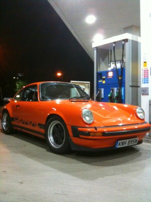 Porsche 911 Road Trip to Essen Techno Classica