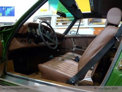 Porsche 911 S rare brown leather interior Essen