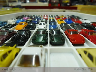 Porsche 930 Models in Tray Matchbox Essen