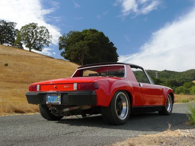 Porsche 914 V8 Engine Transplant Feature