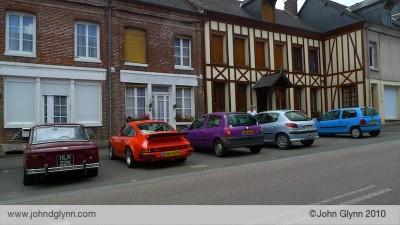Classic Porsche Road Trip in France