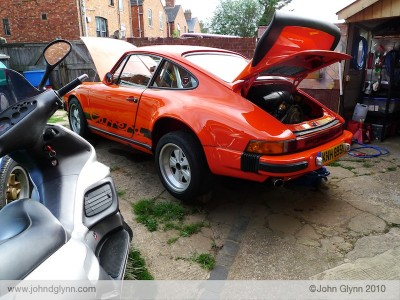 Porsche Carrera 3.0 Service: R Gruppe Tour Preparation