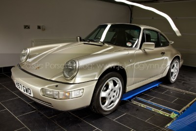 Porsche 911 Paint Correction and Detailing