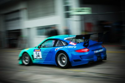 2012 Nürburgring 24 Hour with Falken Porsche Europe