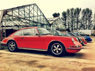 Classic Orange Porsche 911 Day