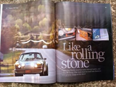 Porsche 911 R Gruppe Targa Feature: US Road Trip