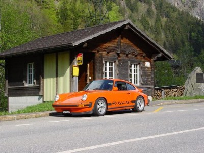 Swiss Hillclimb Porsche 911 RSR Video