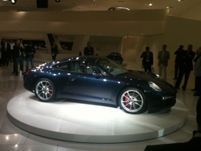 New models: Porsche 911 991 Launched