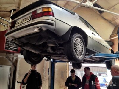 Project Porsche 924 Turbo gets tested