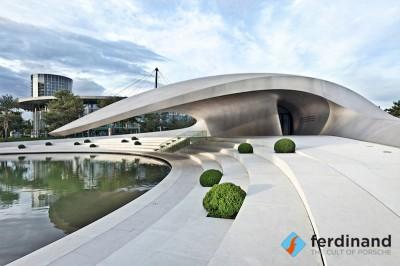 Wolfsburg's Amazing New Porsche Pavilion