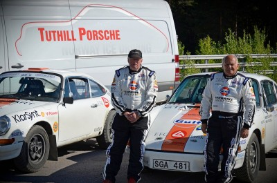 Midnight Sun Rally: Classic Porsche 911s