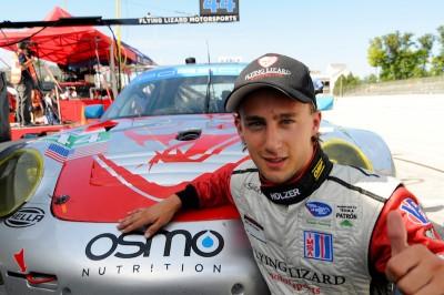 Marco Holzer scores first ALMS Porsche Pole
