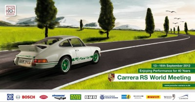 Carrera RS: 40th Anniversary Party Approaches