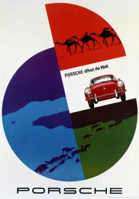Hanns Lohrer Porsche Art and Graphic Design