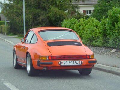 Orange Porsche 911 Ferdinand 1