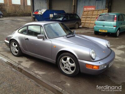 Porsche 964 Pre-Purchase inspection 1