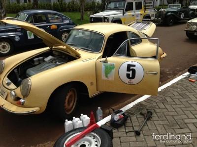 Porsche 356 rallies South America: Day 4