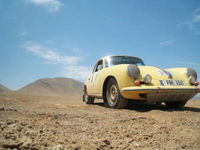 WEVO Porsche 356 reaches Tierra del Fuego