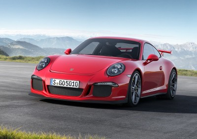 New models:  Porsche 991 GT3 official pics