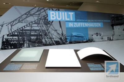 Porsche Museum Construction Exhibition Ferdinand 24