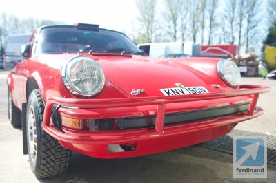 Tuthill Safari Porsche 911 Red 4