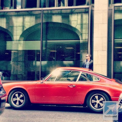 Ferdinand Magazine RGruppe Porsche 911 hot rod London 5