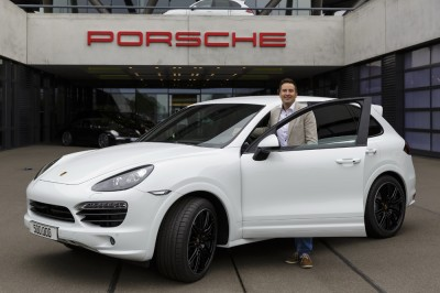 Porsche Cayenne Diesel Half Million