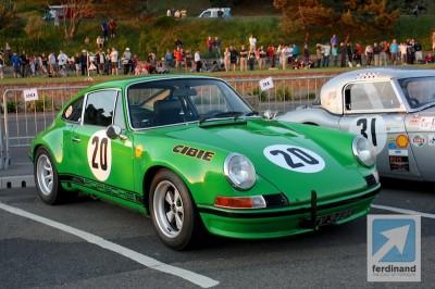 Porsche 911 ST hillclimb in Jersey