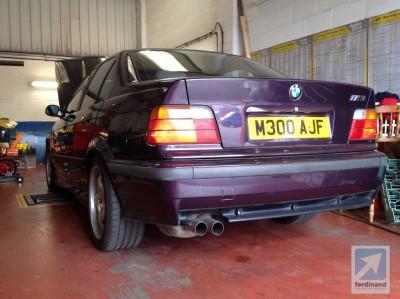 John Glynn 1995 BMW E36 M3 Saloon
