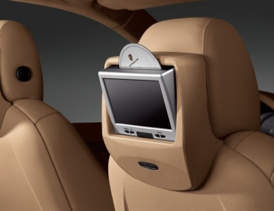 Porsche Cayenne Headrest DVD 2