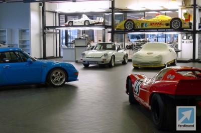 Porsche Museum Pictures: Le Mans GT1, 917 & RS Spyder