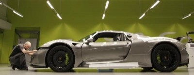 New models: Porsche 918 testing in Stuttgart