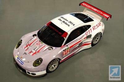 Porsche 991 RSR Daytona