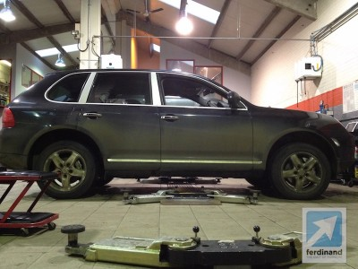 Porsche Cayenne LPG UK conversion 1
