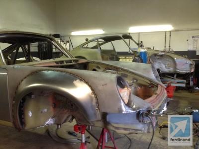 Steel Front Wheel Arch Porsche 911 RSR